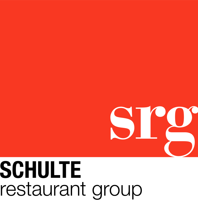 Schulte Restaurant Group full red box logo